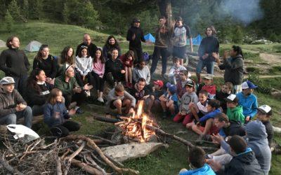 Camp d'été des jeunes