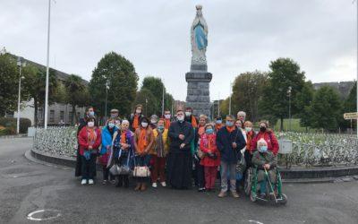 Retour du pèlerinage du Rosaire