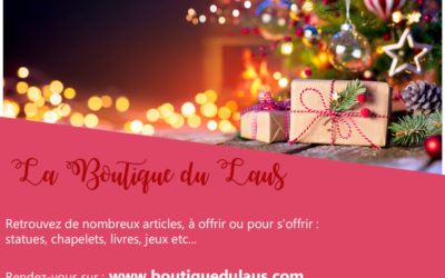 Le magasin du Laus ouvre une boutique en ligne