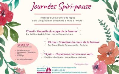 JOURNÉES SPIRI-PAUSE