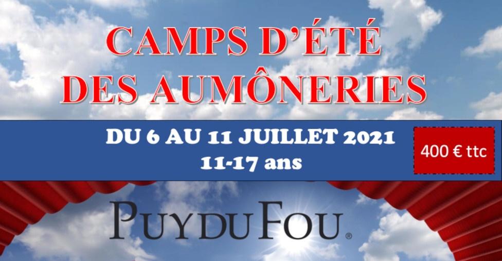 CAMPS D'ÉTÉ DES AUMÔNERIES