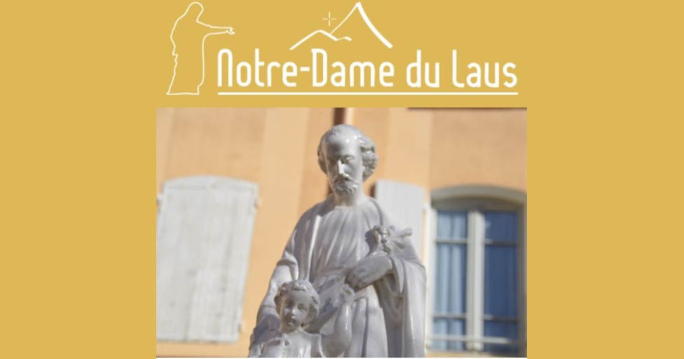 OCTOBRE : GRAND MOIS SAINT-JOSEPH À NOTRE-DAME DU LAUS